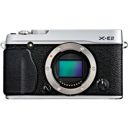 X-E2 Mirrorless Digital Camera (Silver, Body Only)