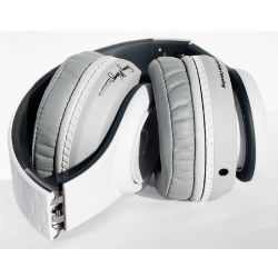 FW-3003-WHI Over Ear Noise Canceling with Remote - White