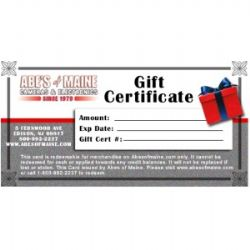 Gift Certificate - $125 Value