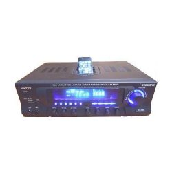 500 watts stereo receiver w/ipod dock