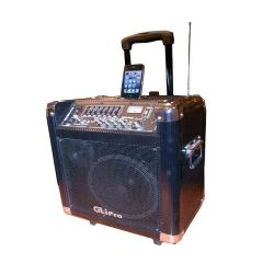10 portable PA powered speaker