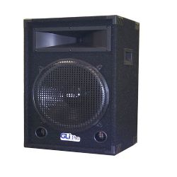"15"" 2-way carpeted speaker with big horn"