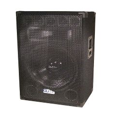 "18"" carpeted speaker with full grill"
