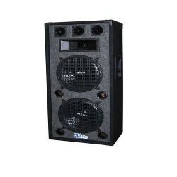 "Dual 12"" 3 way carpeted speaker"
