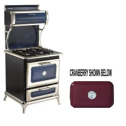 "4210CDGCRN 30"" Dual Fuel Classic Range Natural Gas - Cranberry"