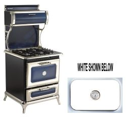 "4210CDGWHT 30"" Dual Fuel Classic Range Natural Gas - White"