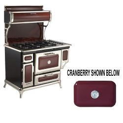 "5210CDGCRN 48"" Dual Fuel Classic Range Natural Gas - Cranberry"