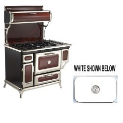 "5210CDGWHT 48"" Dual Fuel Classic Range Natural Gas - White"