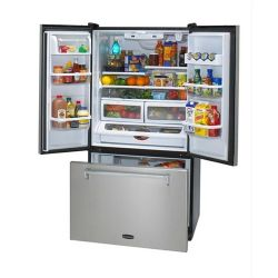 "HLP36FDSS 36""W Refrigerator with Water and Ice - Stainless Steel"