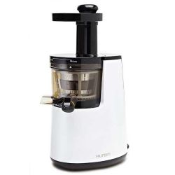 Slow Juicer Model HU-700 Pearl White with Cookbook