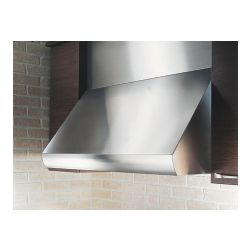 "CH0030SQB 30"" Pro-Style Under Cabinet Range Hood With 12""H Duct Cover - Stainless Steel"