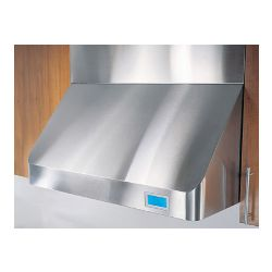 "CH0130SQB Pro-Style Wall Mount Range Hood With 22""H Duct Cover -  Stainless Steel"