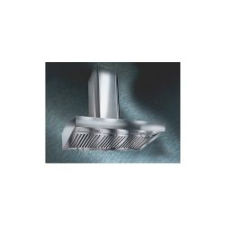 "30"" Pro-Style Wall Mount Range Hood With 22""H Telescopic Duct Cover - Stainless Steel"