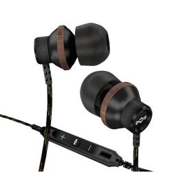 EMFE013MI Conqueror In Ear Earphones with Apple 3-Button Mic/Remote - Midnight