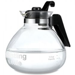 WK112 12-cup Stove Top Whistling Tea Kettle