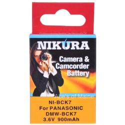 Extended Battery For Panasonic DMC-FH25 cameras