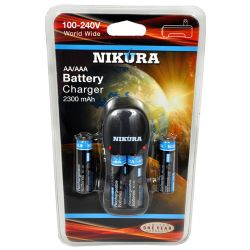 CH-2300 AA/AAA Charger with 4 AA Batteries
