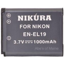 EN-EL19 Extended Life Rechargeable Battery