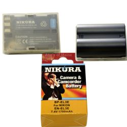 EN-EL3E Extended Life Battery for D300S, D90, and D700