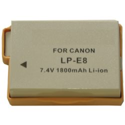 Life Battery for Rebel T2i/ T3i Cameras