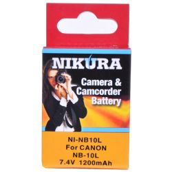Ni-NB10L Extended Battery For Canon NB-10L