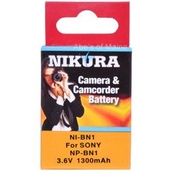 NP-BN1 Extended Battery For Sony Digital Cameras