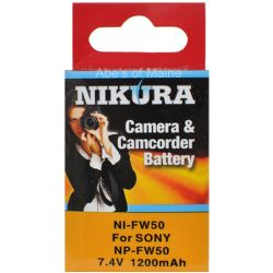 Super High Capacity Replacement for Sony NP-FW50 Battery