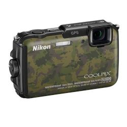 Coolpix AW110 16 Megapixels, Waterproof & Shockproof Digital Camera - Camouflage