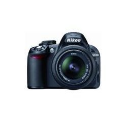 D3100 D-SLR Camera With 18-55mm f/3.5-5.6 VR & 55-300mm F/ 4.5-5.6G Nikkor DX VR Lenses