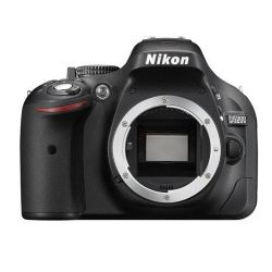 Nikon D5200 24.1 Megapixel DX-Format Digital SLR Camera Body - Black