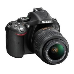 Nikon D5200 DSLR Camera with 18-55mm Lens Black