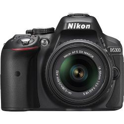 Nikon D5300 DSLR Camera18-55mm VR Lens - Black