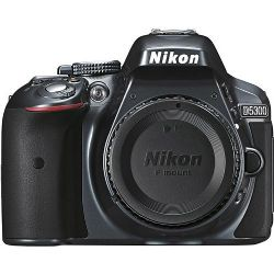 Nikon D5300 Digital SLR Camera (Body Only) - Gray