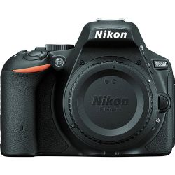 Nikon D5500 DSLR Camera (Body Only, Black)