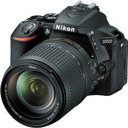 Nikon D5500 DSLR Camera with 18-140mm Lens (Black