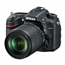 Nikon D7100 DX-format Digital SLR Camera with 18-105mm VR Lens