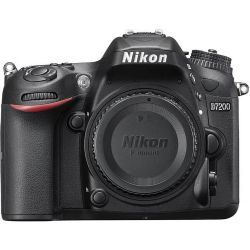 Nikon D7200 DSLR Camera (Body Only) - Black
