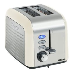 Nesco T1000-14 2-Slice Toaster - White