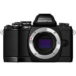 OM-D E-M10 Mirrorless Micro Four Thirds Digital Camera (Body Only, Black)