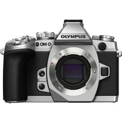 OM-D E-M1 Mirrorless Micro Four Thirds Digital Camera (Silver, Body Only)