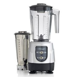 BL390S 1-HP Blender, Tritan Copolyester and Stainless Steel Container Combo Pack, Silver