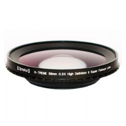 OPT58EF X-TREME 58mm 0.3X HD Super Fisheye Lens for Video Camcorders