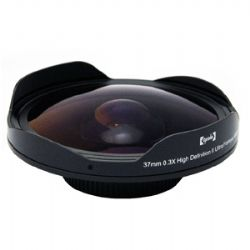 OPTSC37FE Platinum Series 37mm 0.3X HD Ultra Fisheye Lens for Professional Video Camcorders