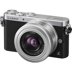 Lumix DMC-GM1 Mirrorless Micro Four Thirds Digital Camera with 12-32mm Lens (Silver)