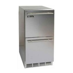 "Signature Series HP15RS5 15"" Double Drawer Refrigerator - Stainless Steel"