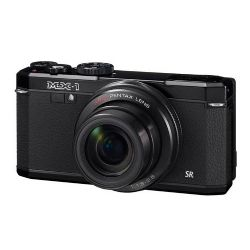 MX-1 Classic Design Compact 12MP Digital Camera with 4x Zoom Lens - Black