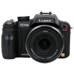 Lumix DMC-FZ100 14.1 MP Digital Camera with 24x Optical Image Stabilized Zoom and 3.0-Inch LCD - Black