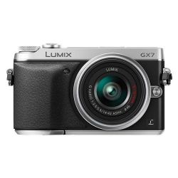 Lumix DMC-GX7 Mirrorless  with 14-42mm f/3.5-5.6 Lens (Silver)
