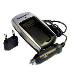 PT-41 AC/DC Rapid Travel Charger for Panasonic DMC-ZS1/ DMC-ZS3/ DMC-TS1