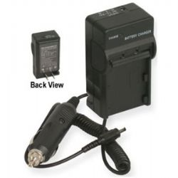 AC/DC Rapid Travel Charger for Canon LP-E8 Battery